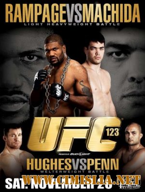 Бои без правил - UFC 123 / UFC 123. Rampage vs. Machida [2010 / SatRip]