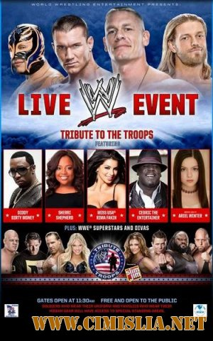 Рестлинг / WWE Tribute to the Troops 2010 Extended [2010 / HDTVRip]