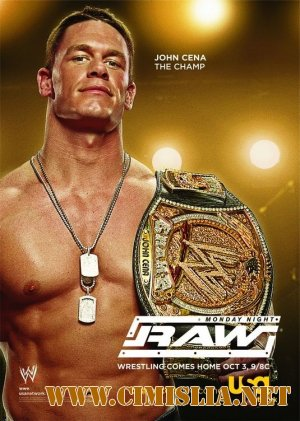WWE Monday Night RAW 10.01.2011 [2010 / HDTVRip]