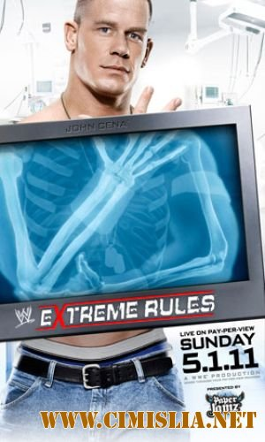 Рестлинг / WWE Extreme Rules 2011 [2011 / HDTVRip]