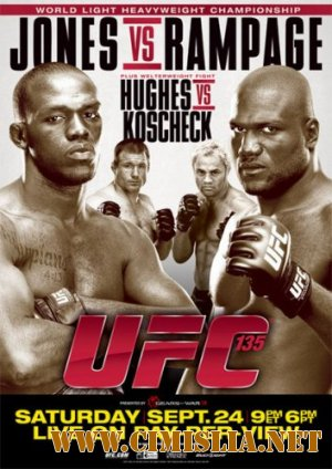 Бои без правил / UFC 135 Jones vs. Rampage [2011 / HDTVRip]