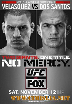 Бои без правил / UFC® on FOX: Velasquez vs. Dos Santos [Main Event] [2011 / HDTVRip]