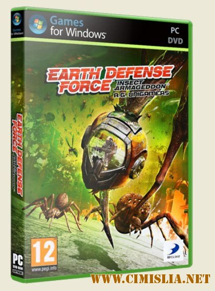 Earth Defense Force.Insect Armageddon [Repack] [2011 / RUS]