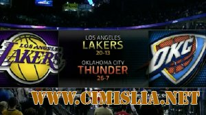 NBA 2011-2012 / RS / 23.02.2012 / Los Angeles Lakers - Oklahoma City Thunder / NBA TV [23.02.2012 / WEB-DLRip]