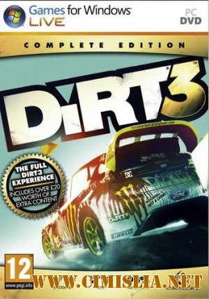 DiRT 3: Complete Edition [Repack] [2012 / RUS / ENG]