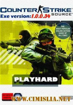 Counter-Strike:Source v34 PLAYHARD™ [RePack] [2012 / RUS]