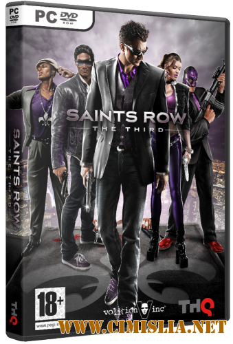 Saints Row: The Third. Коллекционное издание + DLC's [Lossless Repack] [2011 / MULTI7 / ENG / RUS]