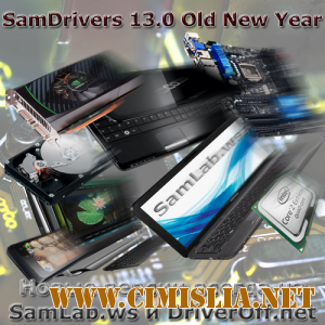 SamDrivers 13.0 Old New Year - Сборник драйверов для Windows [2013 / MULTI / RUS]