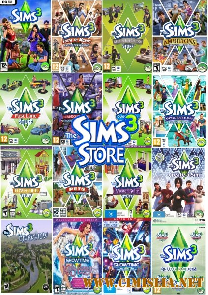 The sims 3 все части голодных - 7c4