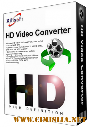 Xilisoft HD Video Converter 7.8.13 Build 20160125 Final [2016 / MULTI / RUS]