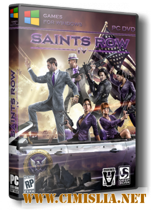 Saints Row 4: Commander-in-Chief Edition [v.1.0.6.1.Update 7+24 DLC] [Repack] [2013 / RUS / ENG / MULTI7]
