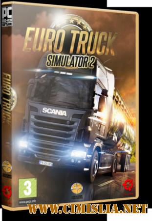 Euro Truck Simulator 2 [v 1.18.1.3s] [RePack] [2013 / RUS / ENG]