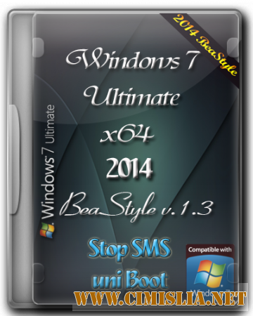 Windows 7 Ultimate BeaStyle v.1.3 [x64] [2014 / RUS]