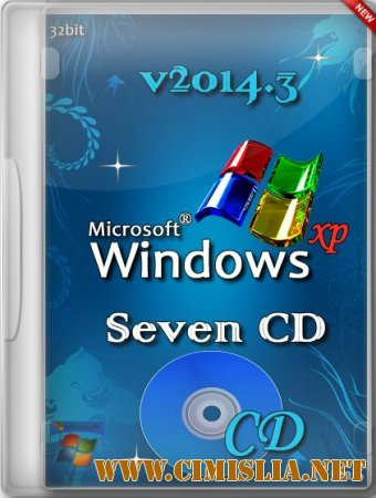 Windows XP Pro SP3 Seven СD OniS v2014.3 [x86] [2014 / RUS]