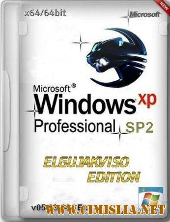 Windows XP Pro SP2 Elgujakviso Edition [x64] [05.03.14 / ENG / RUS]