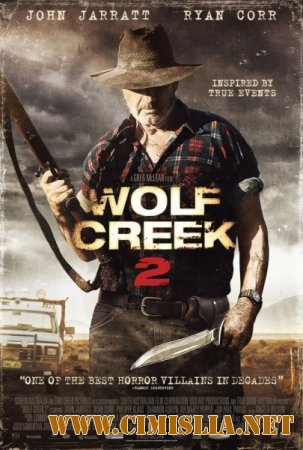 Волчья яма 2 / Wolf Creek 2 [2013 / HDRip]