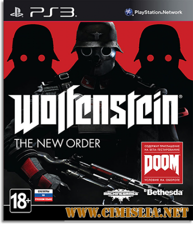 [PS3] Wolfenstein: The New Order [L] [2014 / RUS]