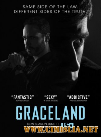 ��������� / Graceland [02x01-11 �� 13] [2014 / WEB-DLRip]