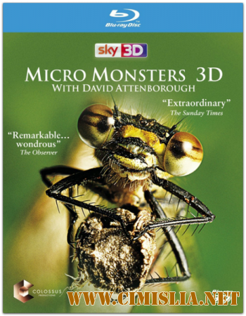Микро Монстры с Девидом Аттенборо / Micro Monsters with David Attenborough [01-06 из 06] [2013 / BDRip]