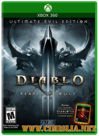 Diablo III: Reaper of Souls - Ultimate Evil Edition [L] [2014 / RUS]
