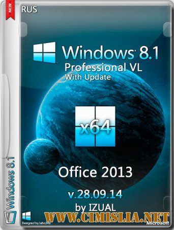 Windows 8.1 Pro VL With Update & Office 2013 [x64] [2014 / RUS]