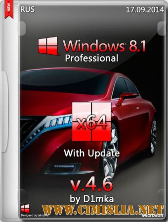 Windows 8.1 Pro With Update v.4.6 [x64] [2014 / RUS]