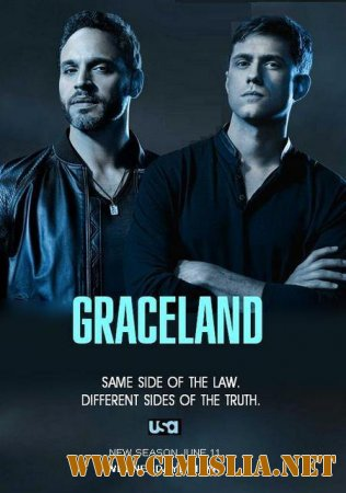 ��������� / Graceland [03x01-05 �� 13] [2015 / WEB-DLRip]