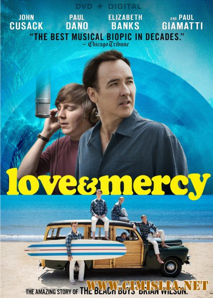������ � ���������� / Love & Mercy [2015 / HDRip]