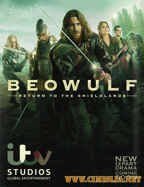 Беовульф / Beowulf: Return to the ShieldLands [Сезон: 01 / Серии: 01-13 из 13] [2016 / WEB-DLRip]