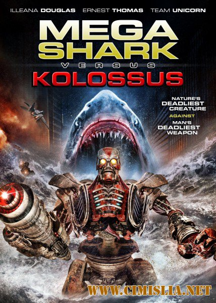Мега Акула против Колосса / Mega Shark vs. Kolossus [2015 / HDRip]