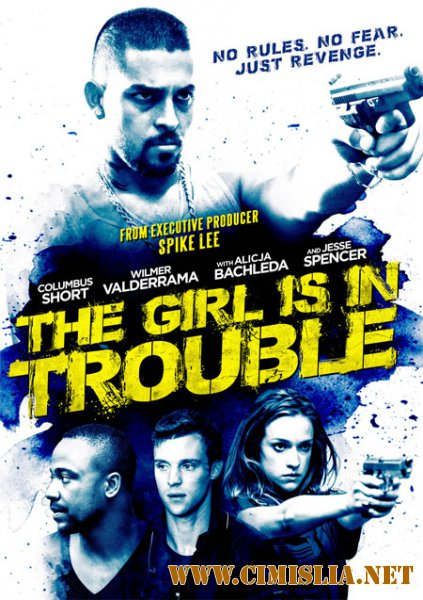 Девушка в беде / The Girl Is in Trouble [2015 / WEB-DLRip]