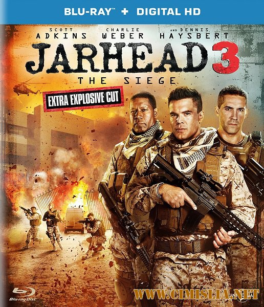������� 3: � ����� / Jarhead 3: The Siege [2016 / HDRip | ��������]