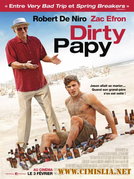 ������� ������� ��������� / Dirty Grandpa [2016 / HDRip]