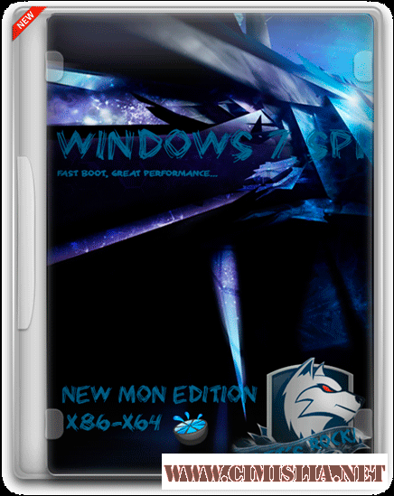 Windows 7 SP1 Ultimate New MoN Edition [6].01+WinPE [x86/x64] [2016 / RUS]