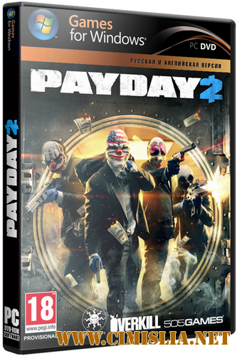 PayDay 2: Game of the Year Edition [v 1.54.14] [RePack] [2014 / RUS]