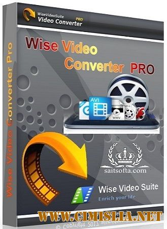 Wise Video Converter Pro 2.11.59 [Portable / RePack] [2017 / MULTi / ENG / RUS]