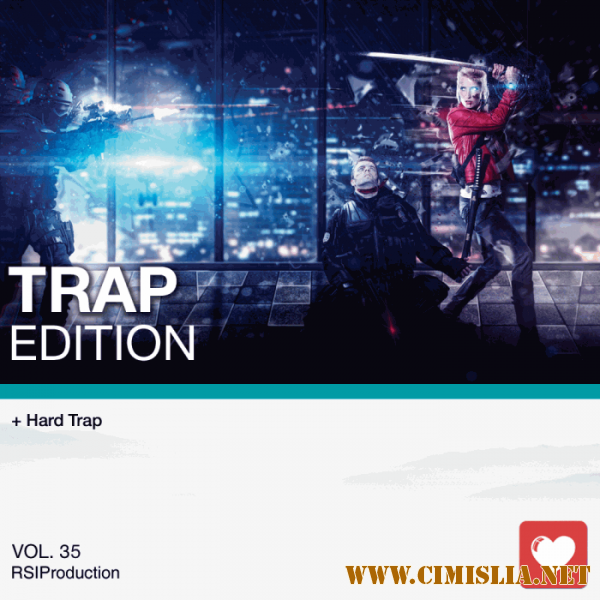 I Love Music! - Trap Edition Vol. 35 [2017 / MP3 / 320 kb]