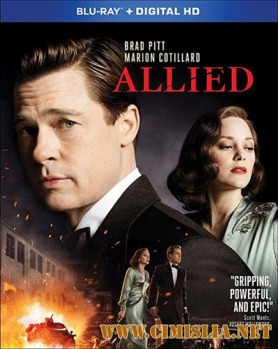 Союзники / Allied [2016 / HDRip | Лицензия]