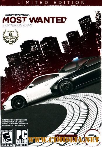 Need for Speed Most Wanted: Limited.Edition [v.1.5.0.0] [L] [2012 / RUS / ENG / MULTi]