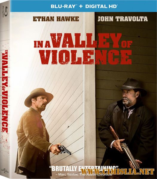 В долине насилия / In a Valley of Violence [2016 / HDRip]