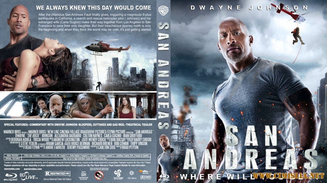 Watch San Andreas (2015) Full Movie Online - Video