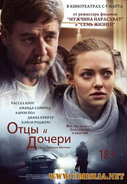 Отцы и дочери / Fathers and Daughters [2015 / HDRip]