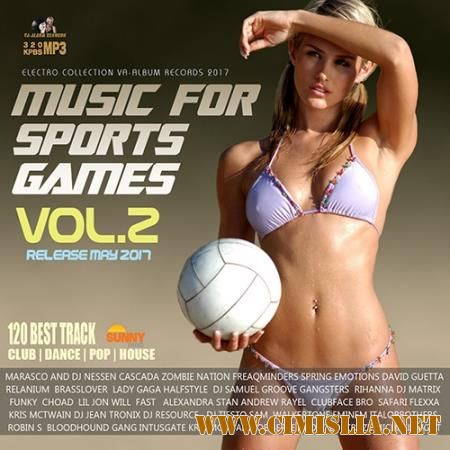 Music For Sports Games Vol.2 [2017 / MP3 / 320 kb]
