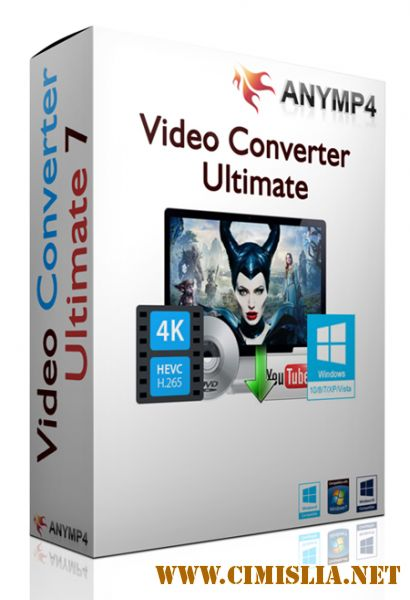 AnyMP4 Video Converter Ultimate 7.2.16 [RePack] [2017 / ENG / RUS]