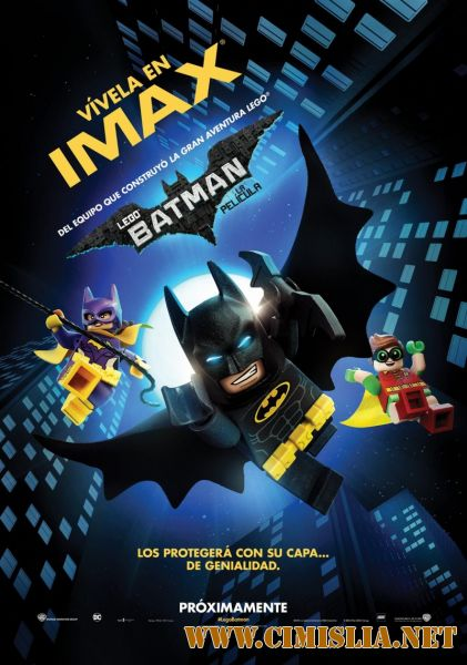 Lego Batman: Filmul / Лего Фильм: Бэтмен / The LEGO Batman Movie [2017 / HDRip | Лицензия]