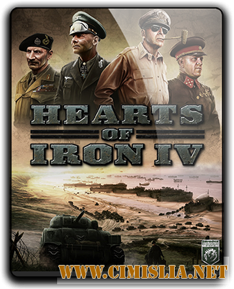 Hearts of Iron IV: Field Marshal Edition [v 1.5.3 + DLC's] [RePack] [2016 / RUS / ENG / MULTi7]