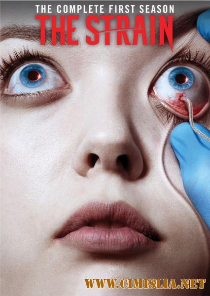 Штамм / The Strain [S01-04] [2014-2017 / WEB-DLRip]