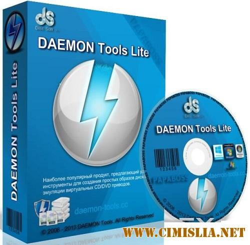 DAEMON Tools Lite Full Pack 10.6.0.0283 [RePack] [x86-x64] [2017 / PC / RUS / MULTi]
