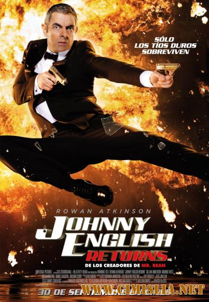 Агент Джонни Инглиш: Перезагрузка / Johnny English Reborn [2011 / HDRip | Лицензия]