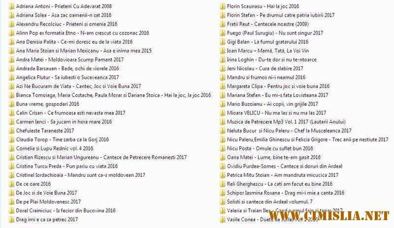 Colectie Albume Muzica Populara Part V 2017 Mp3 320 Kb
